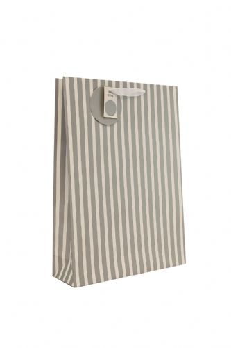 Silver Stripe Gift Bag XL